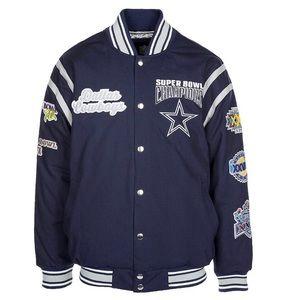 Other - NFL Dallas Cowboys All Time Varsity Jacket Mens